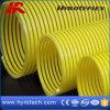Tuyau ondulé flexible de l'aspiration Hose/PVC d'hélix de PVC