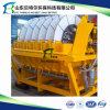 Máquina de desecación del lodo de la explotación minera, unidad de desecación del limo, experiencia de la exportación a Corea