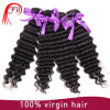 卸し売り加工されていなく自然な毛の織り方のクチクラのRemyのブラジルの人間のバージンの毛
