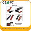 Disco istantaneo di cuoio, USB di cuoio di promozione, USB del cuoio impresso (EL580)