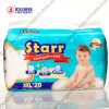 Couche-culotte de bébé d'absorptivité d'utilisation de nuit haute