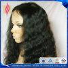 Perruque de lacet de cheveu de Malaysian de 100% pleine