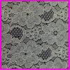 Jacqard Algodón Crochet tela de encaje (6205)