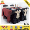 Poliestere Restaurant Table Cloth e Chair Cover