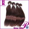 加工されていないバージンのブラジルの毛は100%のブラジルの人間の毛髪を束ねる