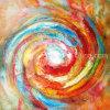 Pinturas abstractas simples decorativas de la acuarela (LH-137000)