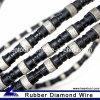 Rubber+Spring Diamond Wire für Concrete