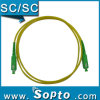 Puente óptico del SM del Sc APC de la fibra a una cara del conector (SPP-SC-SC-A-SS-XX-X)