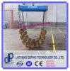 Fabrication Pipelayer soulevant les berceaux utilisés de rouleau pour abaisser des pipes