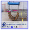 Berceau de rouleau pour le transport de canalisation