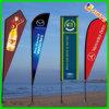 Bandeira de praia ao ar livre da propaganda de Prinited