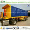 20 FT 3axle Container Flatbed Dump Semi Trailer