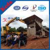 De aangepaste Gouden Installatie van de Was van de Zeeftrommel in de Alluviale Gouden Mijnbouw van de Placer
