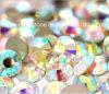 Ss8 편평한 뒤 유리 모조 다이아몬드가 수정같은 Ab 색깔 못 예술에 의하여 돌을 던진다