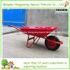 La mano agricola lavora la carriola del giardino (WB7200)