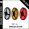 свет 72W 60LEDs DC12/24V СИД красный Srtip для украшения рождества (14.4W/Meter 5050)