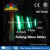 緑の蛍光灯を採取する4.5*38mmの浮遊物の白熱棒夜