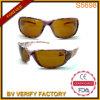 Dame Sport Sun-Eyewear met Modieus Cijfer en Gele Lenes