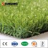 Ajardinar la hierba artificial de la alfombra barata del césped del azulejo de la estera