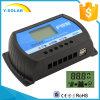 30A 12V/24V USB, der intelligenten Solarcontroller Rtd-30A der Ladung-5V-3A auflädt