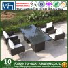 Tabela de jantar ao ar livre do Rattan da mobília do jardim do projeto moderno e Chairset (TG-JW56)