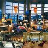 Modernes hölzernes Sofa-Hotel-allgemeine Bereichs-Möbel