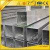 Fábrica de aluminio que suministra la tubería de aluminio extruida 40 * 40/30 * 30