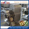 Máquina de carne de peixe e separador de ossos para fábrica de processamento de peixe