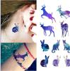 etiqueta engomada temporal colorida impermeable del tatuaje de la manera