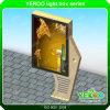 ライトボックスを広告する回転ライトボックスの街灯を広告するYeroo