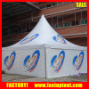 Tenda bianca del Gazebo di Pavillion del Pagoda da vendere con stampa di marchio