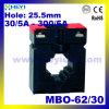 Внутренний трансформатор тока Mbo-62/30 Однофазный класс 0.5 Высокоточный трансформатор тока для амперметра