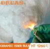 Lista 1260 de algodón de la fibra de cerámica del algodón sin procesar del bulto de los materiales de cerámica