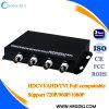 4 CH 720p / 1080P Hdcvi to Fiber Optical Converter para CCTV System 0 ~ 20km