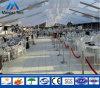 200人は販売のための結婚披露宴のテントの玄関ひさしを取り除く