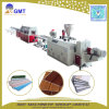 Ligne de machine d'extrusion de profil de panneau stratifiée par PVC de panneau de plafond de plastique