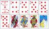 tarjetas que juegan del papel 36cards para las tarjetas que juegan del póker de Rusia