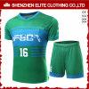 Groene Voetbal Jersey van de Douane van de manier Trendy (eltsji-4)