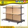 Hot Sale에 있는 주문을 받아서 만들어진 Double Side Wood Slatwall Display Stand