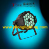 높은 광도 18X10W RGBW 알루미늄 단계 세척 LED PAR64