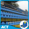 Fester Shell-Plastiksitz für Stadion. Stadion-Stuhl-Sitz