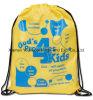 Grand sac de corde en nylon imperméable à l'eau fait sur commande promotionnel de l'aspiration pp de Ripstop