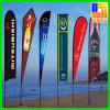 Bandeira de praia de alumínio do Teardrop ao ar livre da alta qualidade