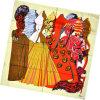 Шарф повелительницы Способа Printed Квадрата Twill Silk (HC056-2)