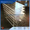 Organizador Rotatable de giro acrílico personalizado da composição do suporte do batom