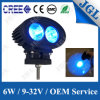 Lámpara azul 6W de la luz del trabajo de la iluminación de seguridad de la carretilla elevadora LED