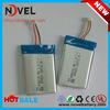 Batería del polímero del OEM 3.7V 1000mAh 523450 Li con Jst