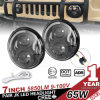 diodo emissor de luz Headlight de 7inch Round Osram para Jeep