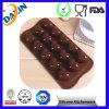 Прессформа шоколада силикона качества еды формы сердца