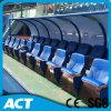 갑판에 Soft Folding Chair Fixed를 가진 옥외 VIP Soccer Player Seats